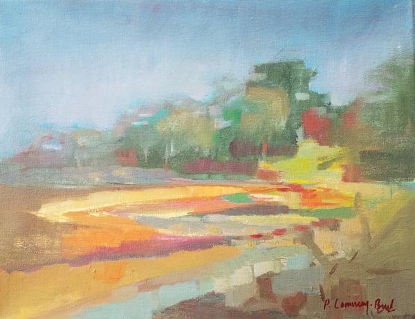 Marshland In Autumn Art | Peg Connery-Boyd Artwork