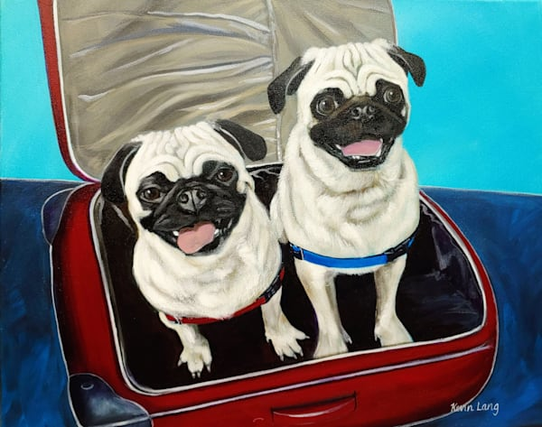 Traveling Buddies   Kevin Lang Fine Art