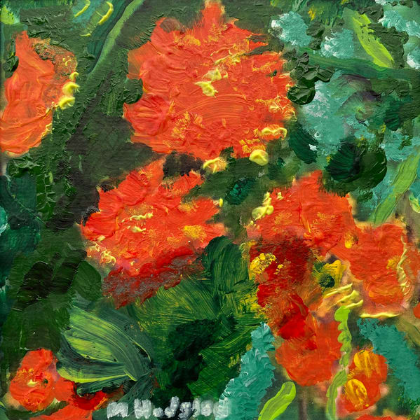 Mommies And Poppies Art | Jenny McGee Art