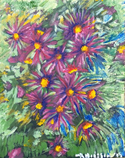 Grayhead Coneflower Art | Jenny McGee Art