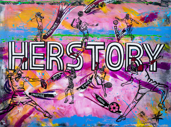 Her Story. Open Edition Art | Cortney Wall Fine Art
