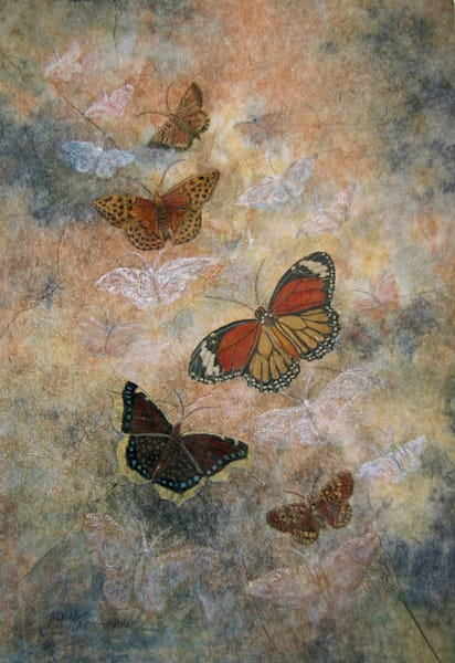 Margaret Carpenter Arnett - Butterfly Series 1 - On the Wing