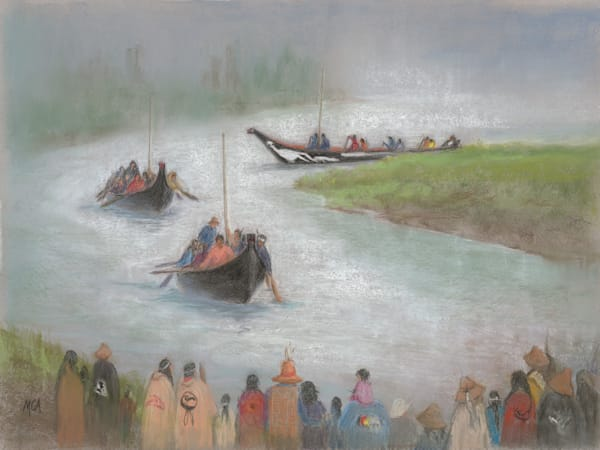 Margaret Carpenter Arnett - Canoe Journey 2