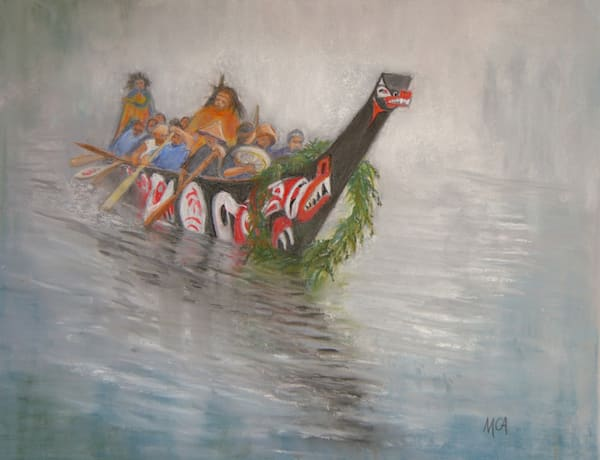Margaret Carpenter Arnett - Canoe Journey