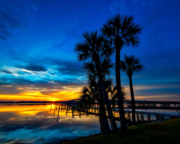 Sunrise on the St. Johns River - Florida photography prints