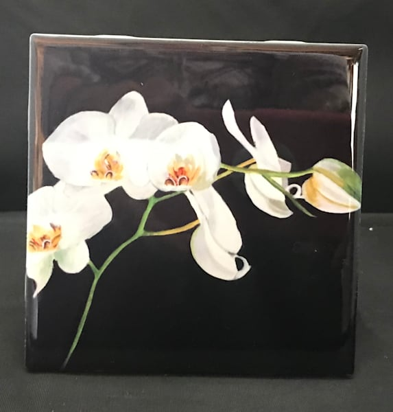 White Orchids | Marie Art Gallery