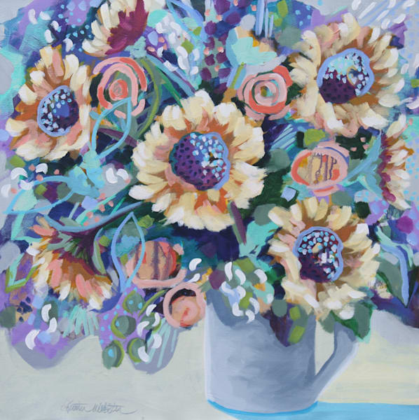 A Sunny State Of Mind Oct Art | Kristin Webster Art Studio
