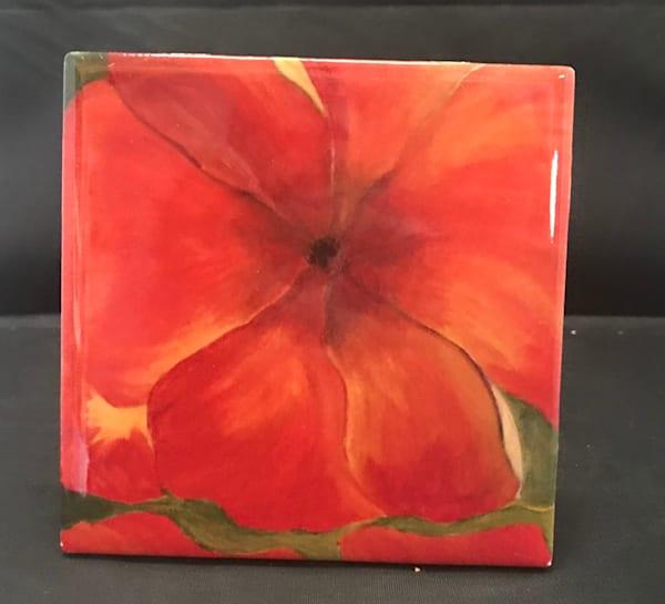 Red Pansies   Marie Art Gallery
