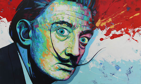 Dali, painter, artist, prints, art