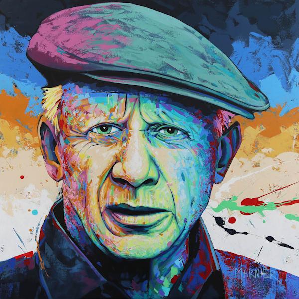 Pablo Picasso, painter, artist, art, acrylic