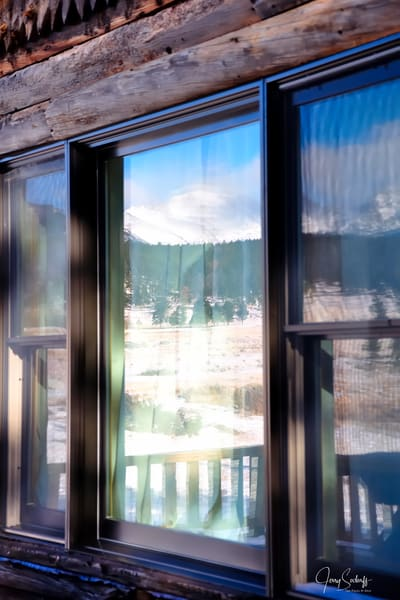 Reflection of Moraine Flats