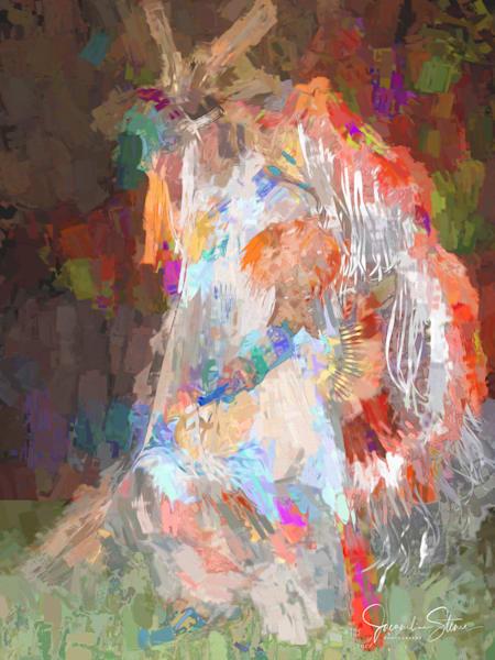 J Stoner   Ceremonial Leader Art | Branson West Art Gallery - Mary Phillip
