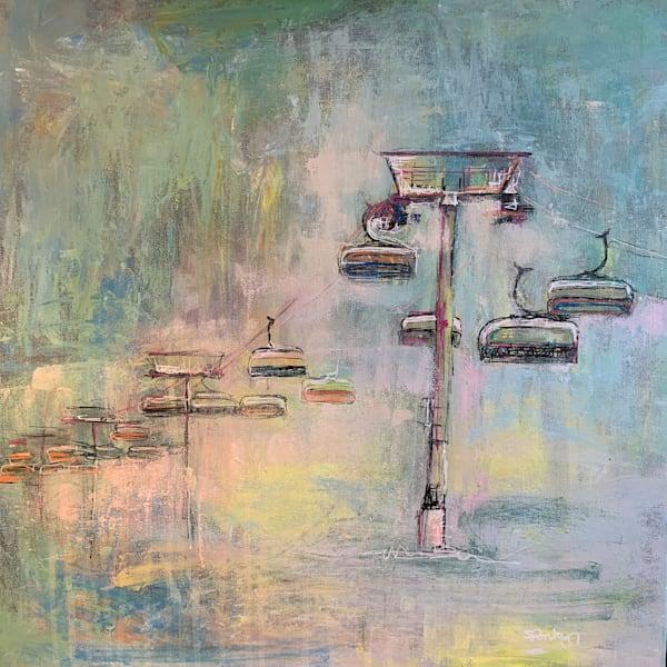Ski Lift V Art | Atelier Steph Fonteyn