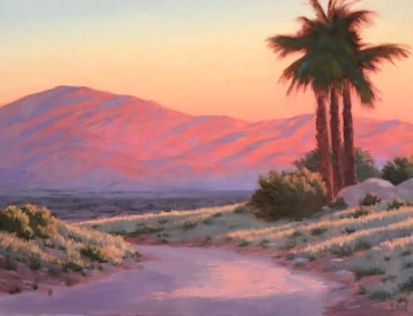 Coachella Valley Sunset  Art | Terry Sauve Fine Art