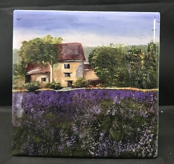 Lavender Field   Marie Art Gallery