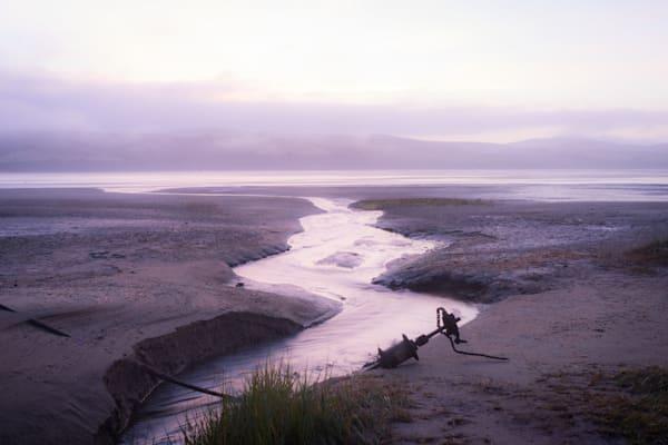All Paths Lead to the Sea - California coast sunrise photograph print