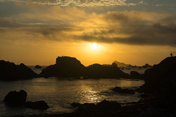 Bigfoot Sunset - Northern California coast landscape photograph print
