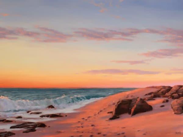 Sunset Stroll  Art | Terry Sauve Fine Art