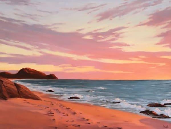 Todos Santos Beach Sunset  Art | Terry Sauve Fine Art