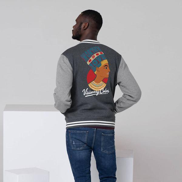 Worthy of Love Men's Letterman Jacket