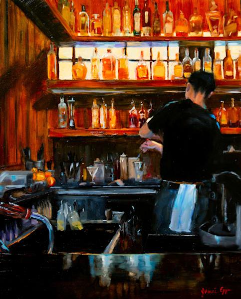 The Bartender Art | Jamie Lightfoot, Artist
