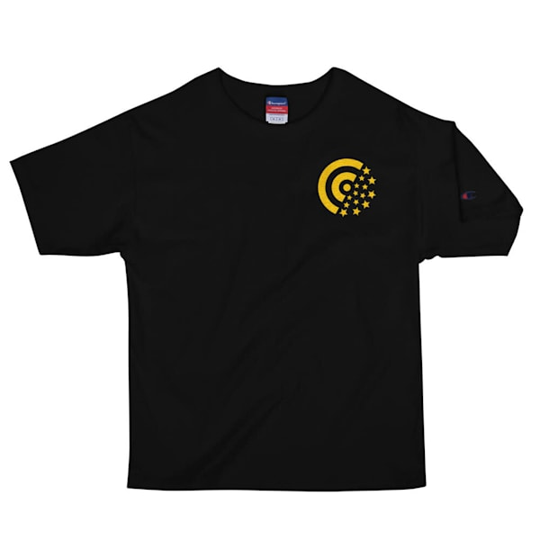 Gold Label Embroidered Men's Champion T-Shirt