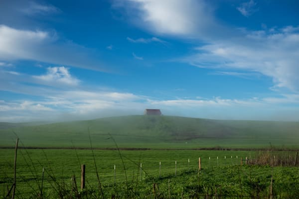In the Distance - California country farm landscape photograph print