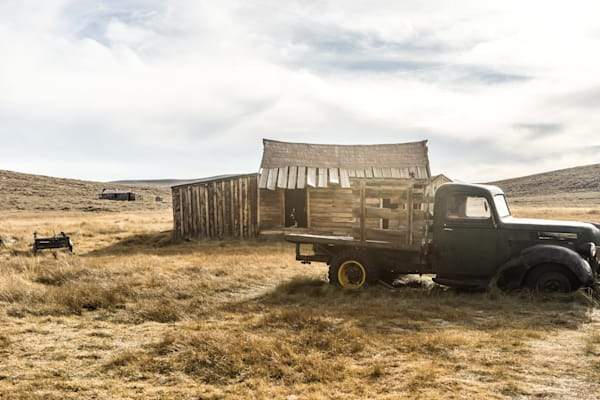 Stuck in Time - Bodie Ghost town California landscape photograph print