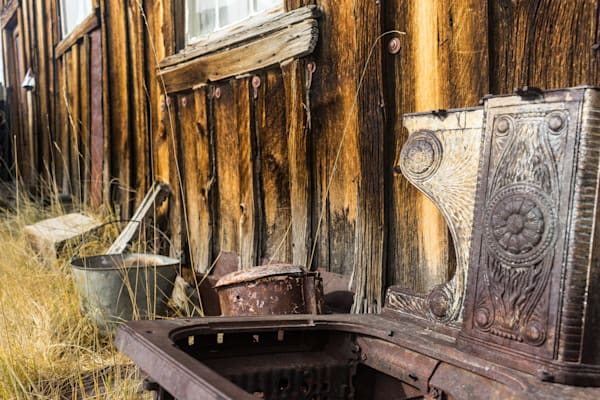 In the Yard - Bodie Ghost town California landscape photograph print