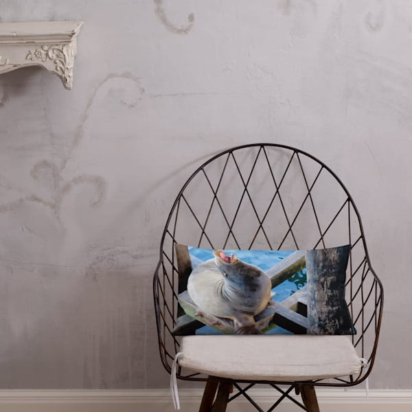 """""""Sometimes You Just Have To Sing"""" Throw Pillow"""