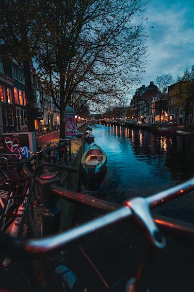 Matej Silecky Amsterdam Canals