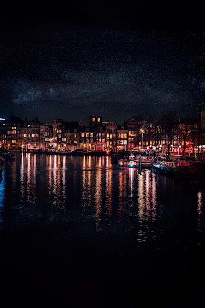 Matej Silecky photography Amsterdam lights
