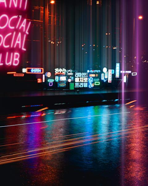 Amsterdam Lights Seoul, Matej Silecky photography
