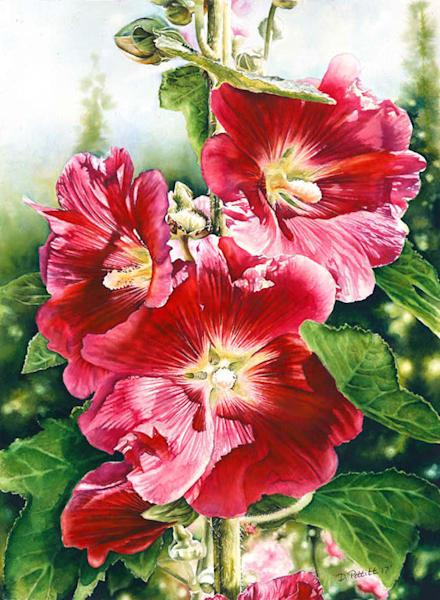 """Afternoon Light"" Original Watercolor Painting Art | Debbie Friis-Pettitt Fine Art Watercolors"