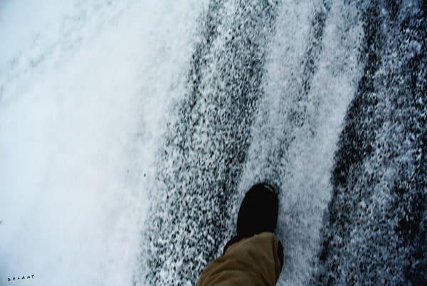 Slush Foot in Winter