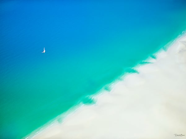 Sailing In Paradise Photography Art | David Beavis Fine Art