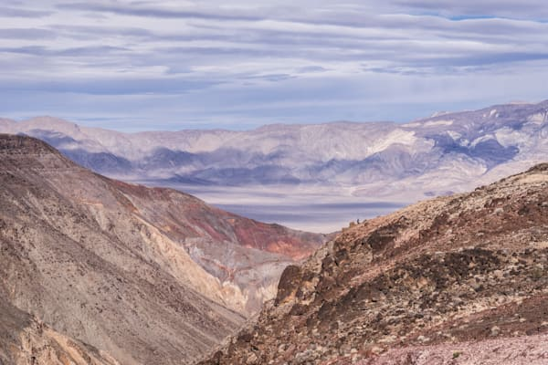 Rainbow Canyon - Death Valley National Park California landscape photograph print