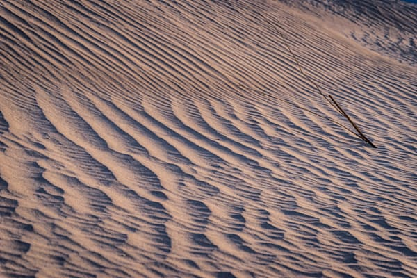 Waves of Sand - Death Valley National Park California landscape photograph print