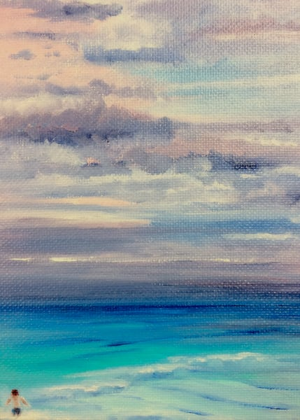 Shop Seascape Wall Art Prints of Cancun Mexico by Marie Stephens Art