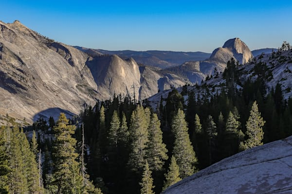 Tenaya Canyon from Olmstead Point, Yosemite