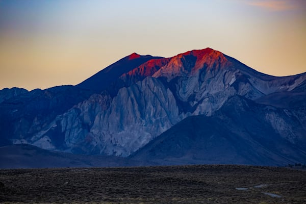 Sunrise, Red Mountain, Owens Valley, CA