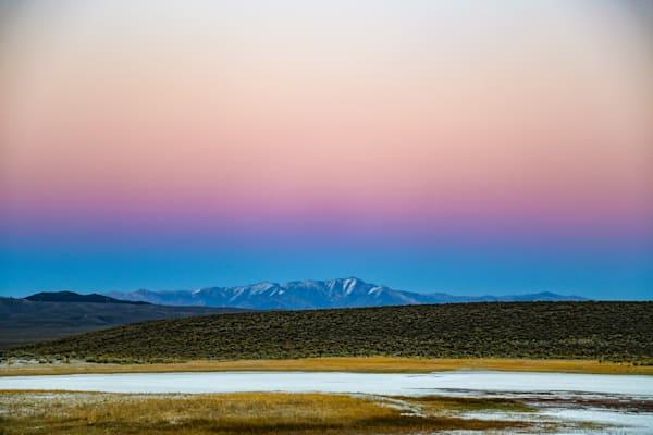 Belt of Venus, Owens Valley, CA