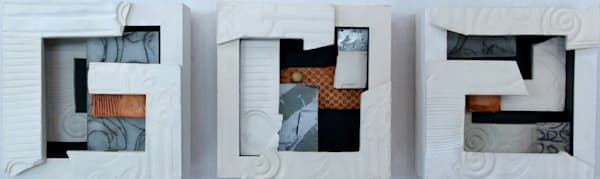 Ceramic Squares  (Originals) Art | Laurie Fields Studio