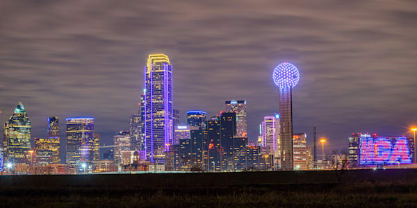 Dallas Skyline NCA - Dallas Skyline Pictures | William Drew Photography