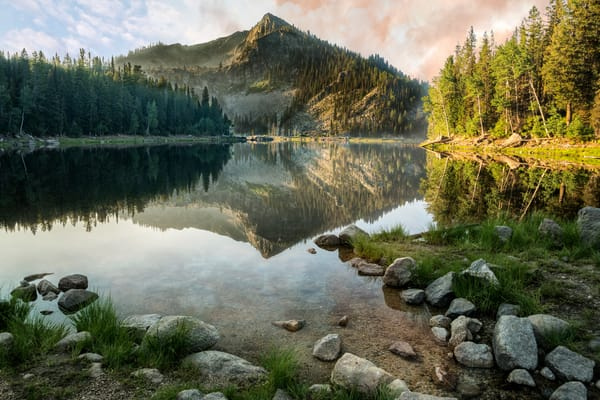 Louie Lake Sunrise