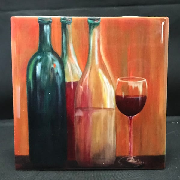 Life Is Better With A Glass Of Wine | Marie Art Gallery