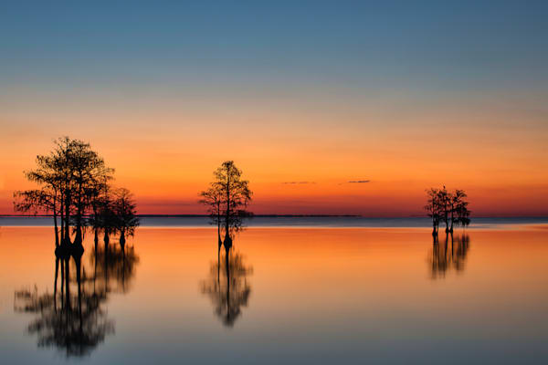 Sunrise at Lake Moultrie