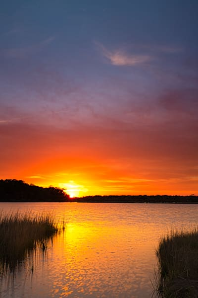 Marsh Sunset, South Carolina