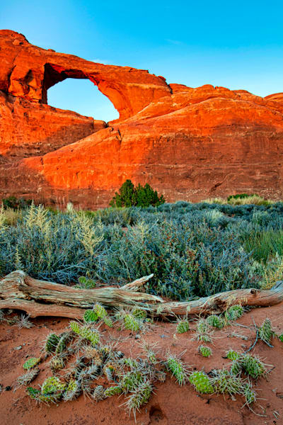 Skyline Arch at  Arches NP