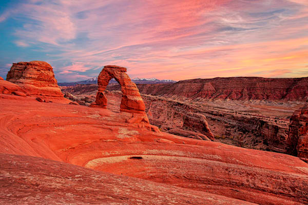 Delicate Arch at Sunset - Arches NP